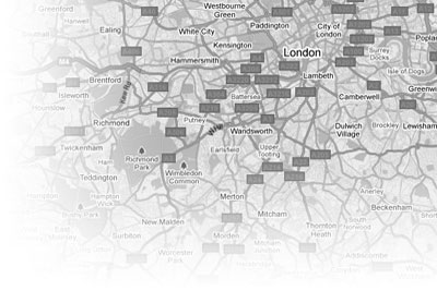 private investigator map of london