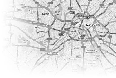 private investigator map of manchester